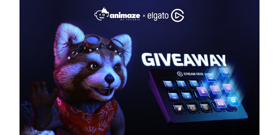 Animaze x Stream Deck contest terms and conditions