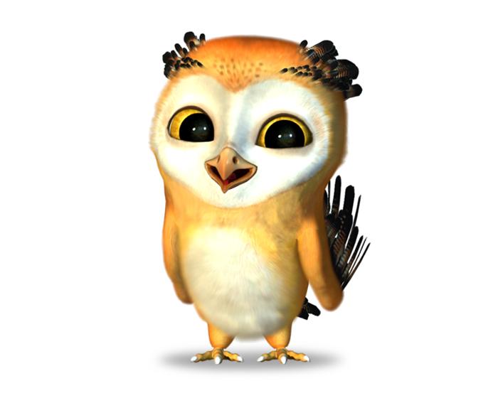Buckwig the Owl Holotech original avatar