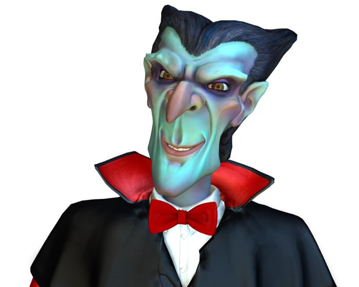 Count Fang Holotech original Avatar