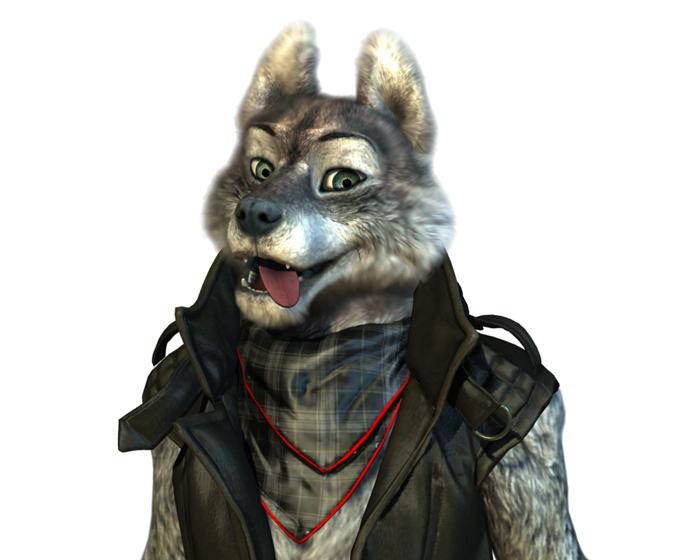 Danny The Wolf Holotech original avatar