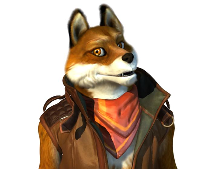 Manny the Fox Holotech original avatar