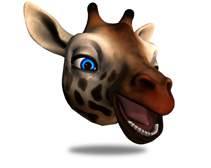 Chris the Giraffe Holotech original avatar