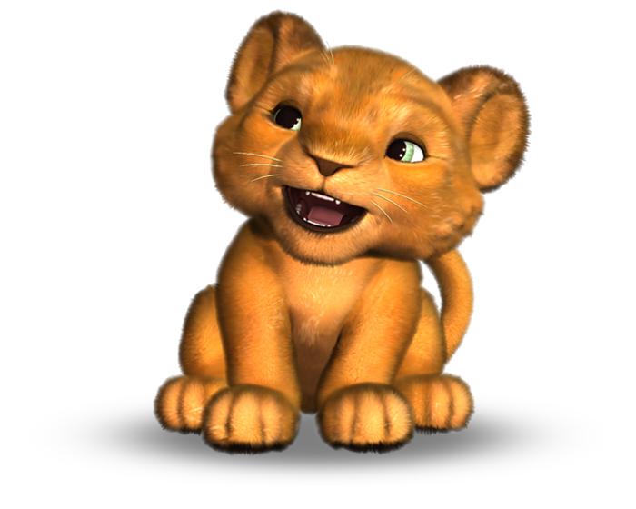 Noah the Lion Cub Holotech original avatar