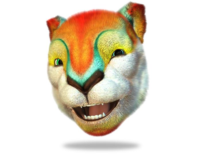 Louie the Mountain Lion Holotech original avatar