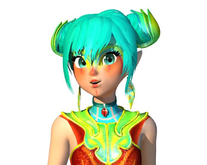 Zoe avatar Holotech original avatar