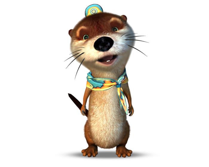 Oliver the Otter Holotech original avatar
