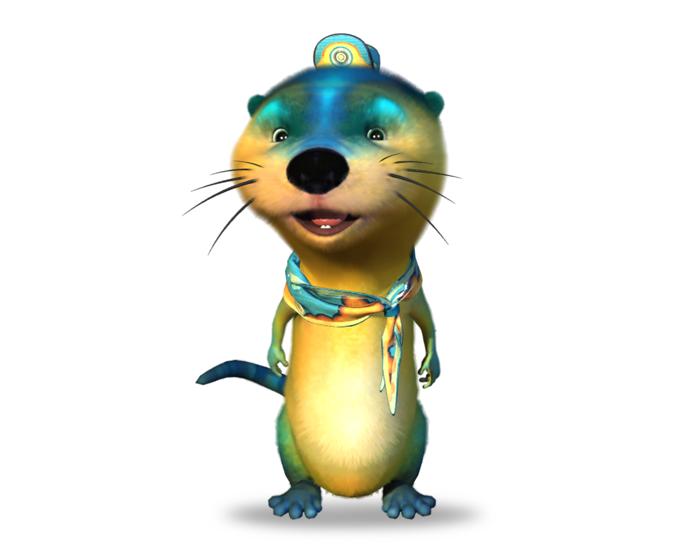 Wally the Otter Holotech original avatar