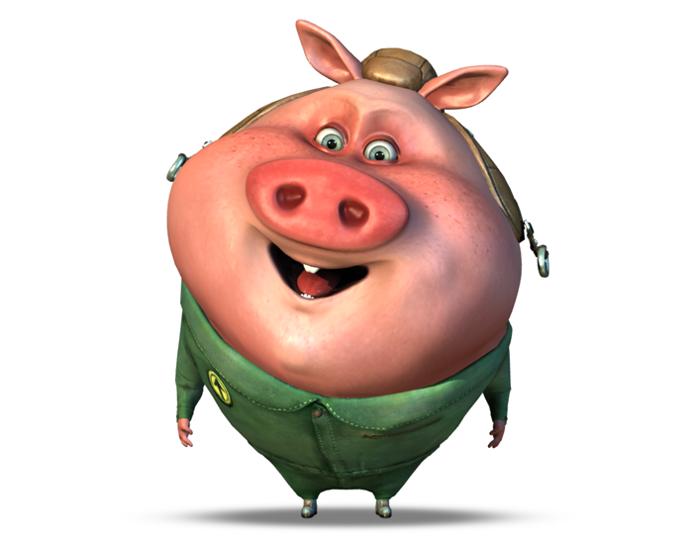 Howard the Piglet Holotech original avatar
