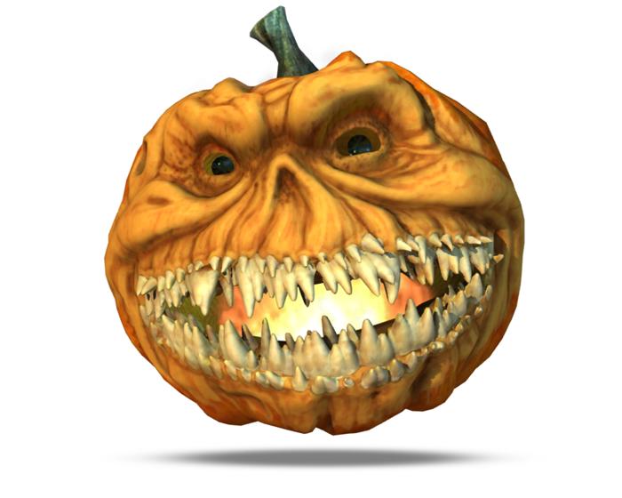 Halloween Toothy Pumpkin Holotech original avatar