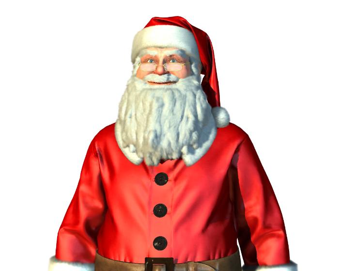 Santa Holotech original avatar