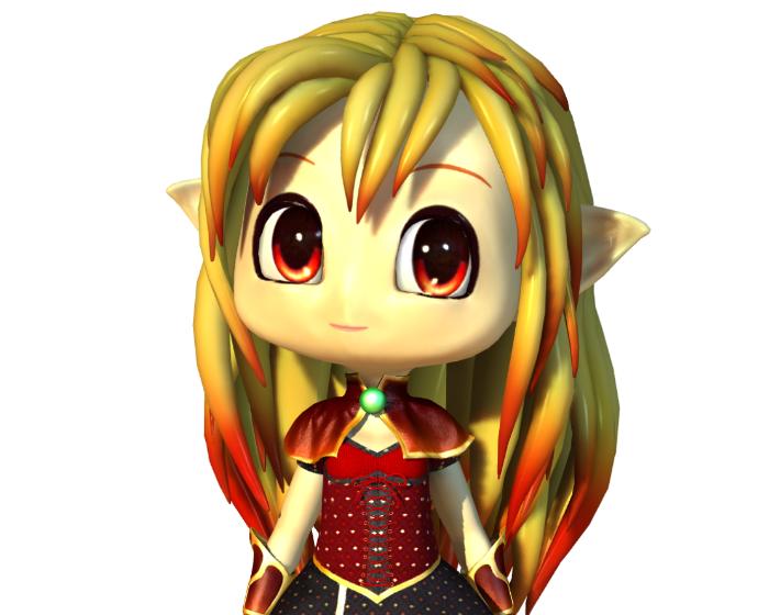 Tallah the Mage Holotech original avatar