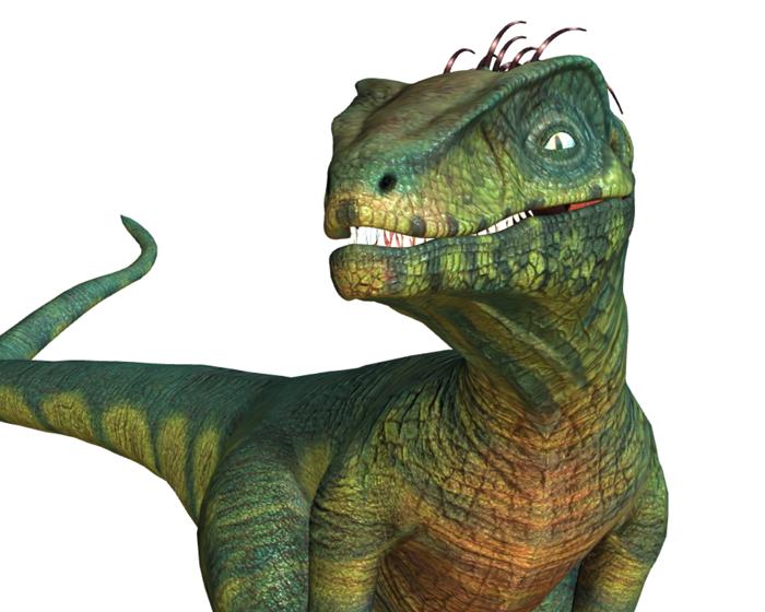 Velociraptor Holotech original avatar