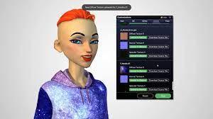 Female Persona Holotech original avatar