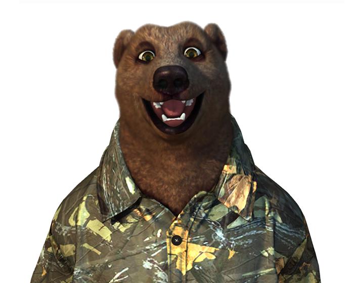 Frank The Brown Bear Holotech original avatar