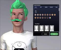 Male persona Holotech original avatar