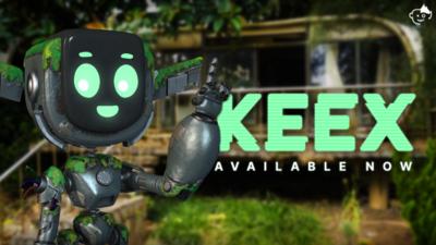 Meet Keex the Robot!